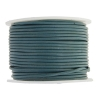 Leather Round Cord 1.5mm Teal Green